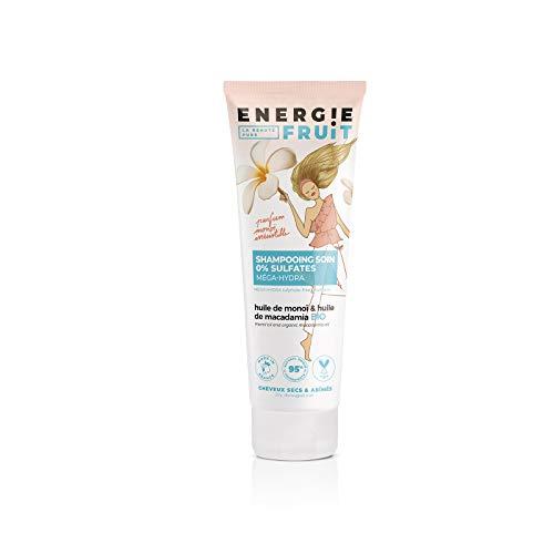 Energie Fruit Shampooing monoï et huile de macadamia bio - Le tube de 250 ml
