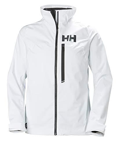 Helly Hansen Damen HP Racing Midlayer Lifaloft Fleecekragen Wassersport Segeln wasserdichte Jacke, White, M