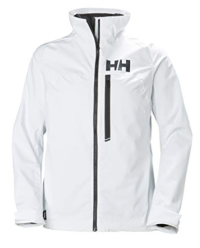 Helly Hansen HP Racing Midlayer Lifaloft Cuello Forro Polar Marina Deportes Navegación Chaqueta Impermeable, Mujer, White, M