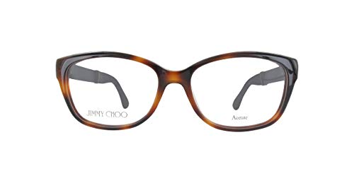 JIMMY CHOO JC178 Jimmy Choo Brillengestelle Jc178-16Y15-51 Damen Cateye Brillengestelle 51, Braun