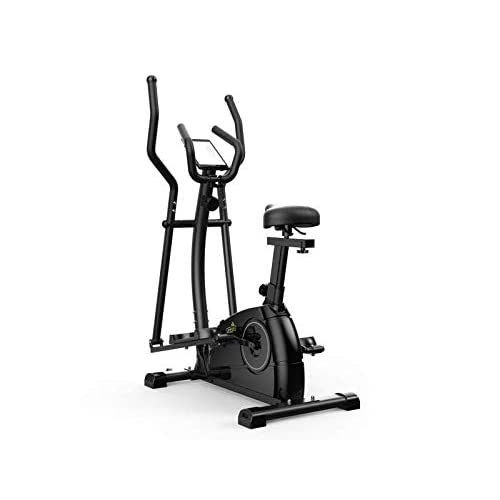 Limepeaks Fitness – LMP-1001 (White) Compact 2-In-1 Dual Action Indoor Elliptical Cross Trainer...