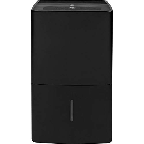 Great Deal! GE High-Tech 70 pt 3 Fan Speed Home Dehumidifier with LED Digital Display Control, Black...