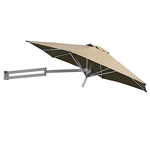 LY88 Parasols terrasparasol met aluminium paal, tuintuin, balkon met kantelbare parasol, Ø 250 cm