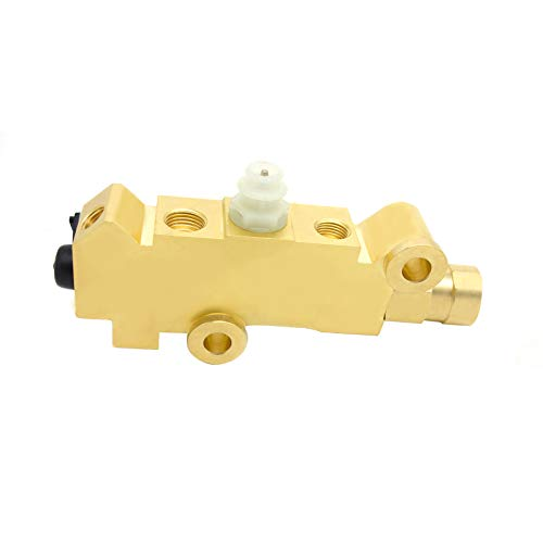 PV2 Brass Proportioning Valve Disc Drum Disc Front Drum Rear Brake 172-1353 PV71 Fit for GM Street Rod Classic Car & Truck