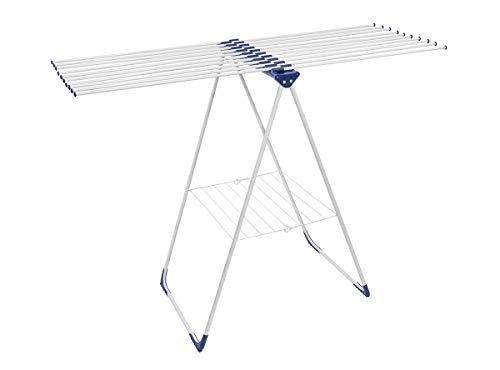 CASASI Wäscheständer Hugo - extra hoch für große Wäschestücke - mit besonders dicken Stangen