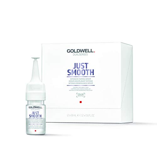 Goldwell Dualsenses Just Smooth Intensive Taming Farbversiegelndes Serum, 1er Pack (12 x 18 ml)