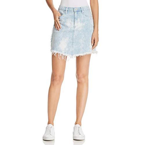 [BLANKNYC] Blank NYC Womens Denim Acid Wash Denim Skirt Blue 31