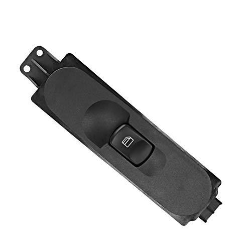 YOPOTIKA 1Pc A9065451913 Interruptor de Control de La Ventana Eléctrica del Lado del Pasajero Apto para Mercedes-Benz W906 Sprinter Negro