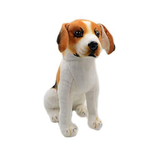Cartoon Simulatie Beagle Hond Knuffel Pop, Zachte Knuffels Pop, Verjaardag Kerst Voor Kinderen 60Cm
