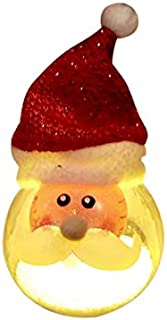 Light Up LED Christmas Tree Ornaments Decorations (Santa)