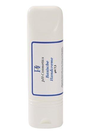 Basische Handcreme pH 7, 5, Creme für die trockenen Hände, Basencreme, ph-Cosmetics, 100 ml