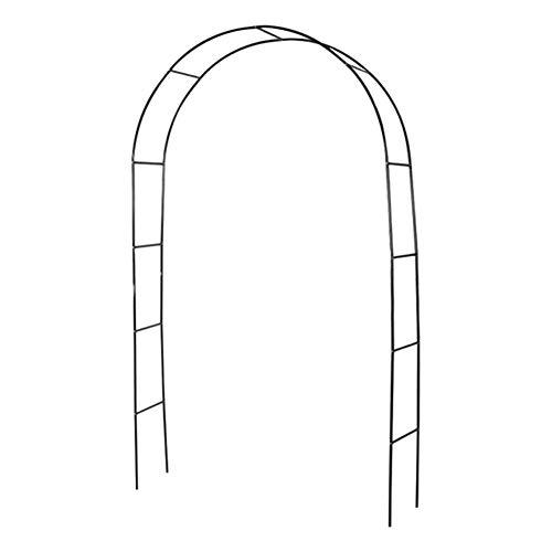 Renoble Torbogen Hochzeits Bogen Stereoscopic Metal Garden Arch Arbor Mit Graceful Curve Für Kletterpflanzen Roses Vines Leichte Blumenständer Für Hochzeit Geburtstag Party Dekoration