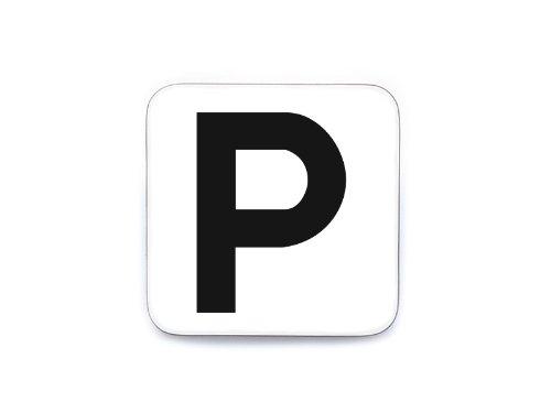 Interluxe Schild Piktogramm Türschild Hinweisschild PARKEN PARKHAUS Pictogram