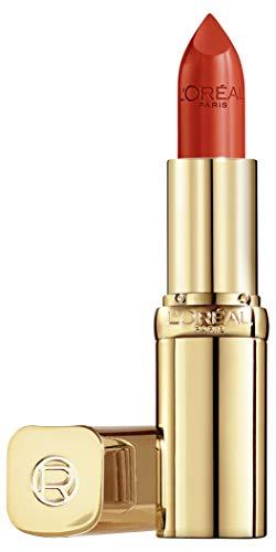 L'Oréal Paris Rossetto Lunga Tenuta Color Riche Collezione Standard, Finish Effetto Satinato, 377 Perfect Red