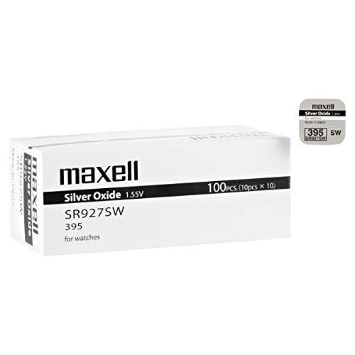 MAXELL 395 Uhrenbatterie knopfzelle