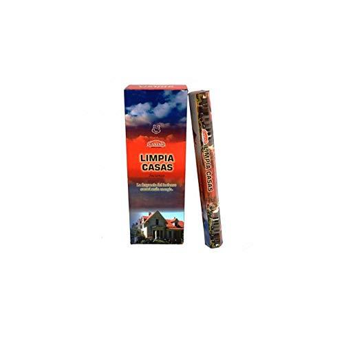 DoraZen Incienso Limpia Casas - Calidad Ganesh - 6 Paquetes
