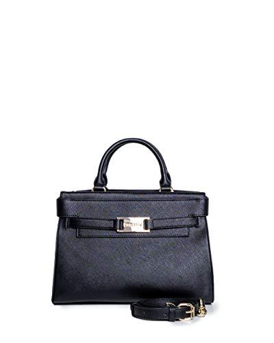 CAFèNOIR - Bolso para mujer (cinturino con placca), color Negro, talla Einheitsgröße