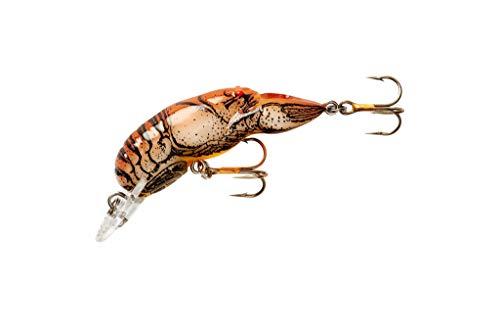Rebel F76-75 Wee Crawfish, 1/5-Ounce, 2-Inch, Brown