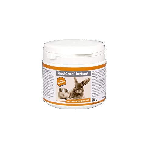 RodiCare® instant 170 g Einheit: 170 g Alleinfuttermittel für Zwergkaninchen, Meerschweinchen, Degus und Chinchillas Päppelfutter mit gesunden Kräutern