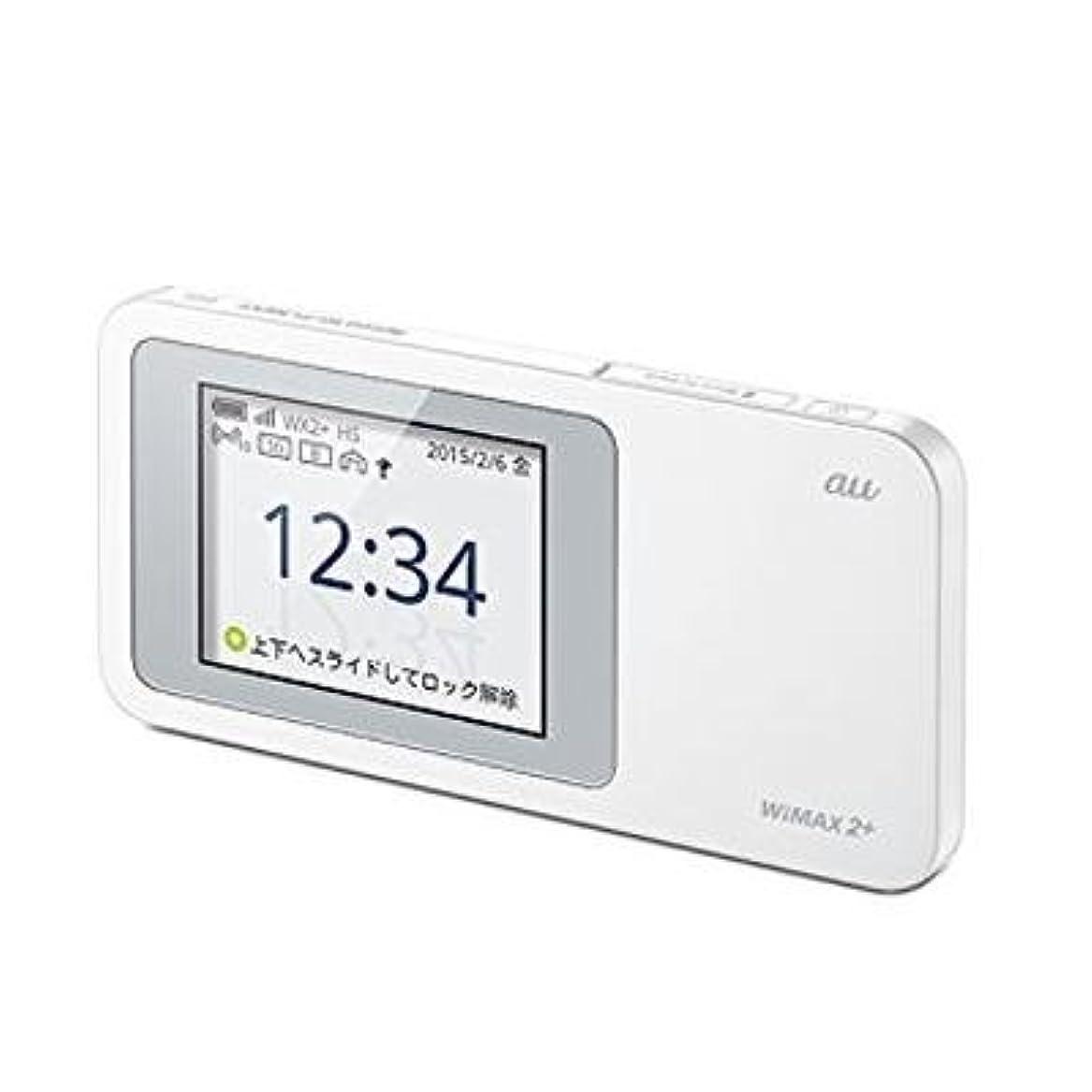 合理化バット縫い目Huawei 【au版】Speed Wi-Fi NEXT W01 HWD31MWA WHITE