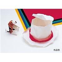 (まとめ)アーテック ファイバーアートカラー/工作紙 【厚み0.5mm】 単色 着色可 レッド(赤) 【×15セット】