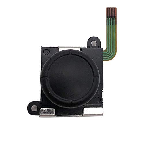 CNmuca Joystick de botão 3D analógico profissional para reparar peças Botão joystick analógico para Nintend Switch Joy-Con Controller preto