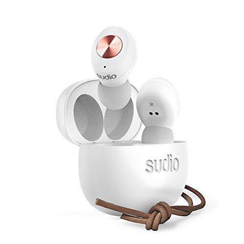 【国内正規品】Sudio Bluetooth 完全ワイヤレスイヤフォン TOLV White SD-0037