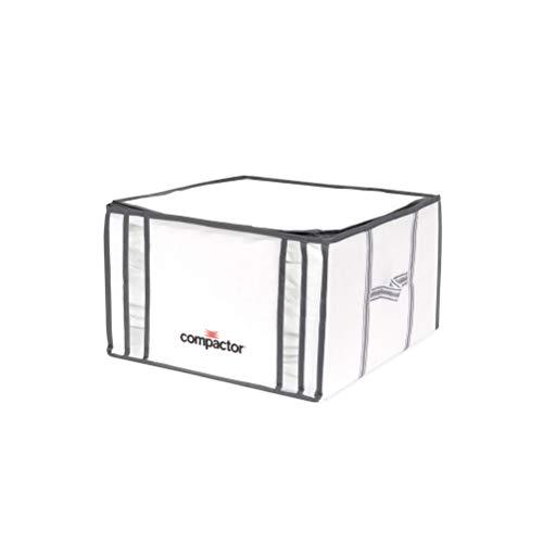 COMPACTOR Caja de Almacenaje Al Vacío, Talla M, 125 l, Blanco 'Life', RAN3254