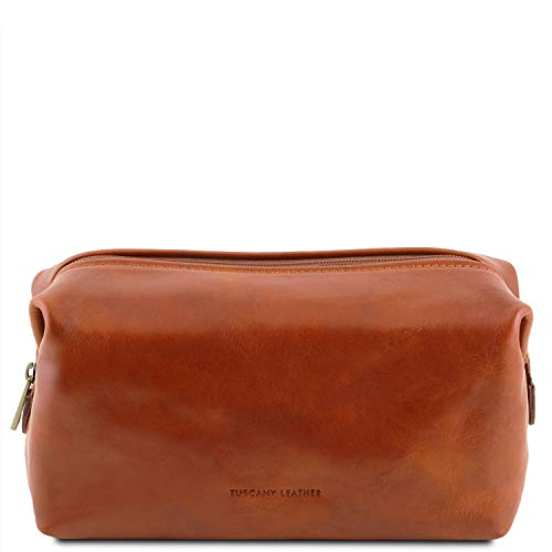 Tuscany Leather Smarty - Beauty case in pelle - Misura piccola Miele