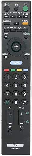 ALLIMITY RM-ED011 Ersatz-Fernbedienung für Sony Bravia LCD LED TV KDL-26E4020 KDL-26E4030 KDL-26E4050 KDL-26V4500 KDL-26V4710 KDL-26V4720 KDL-26V4730 KDL-32E4000 KDL-32W4220