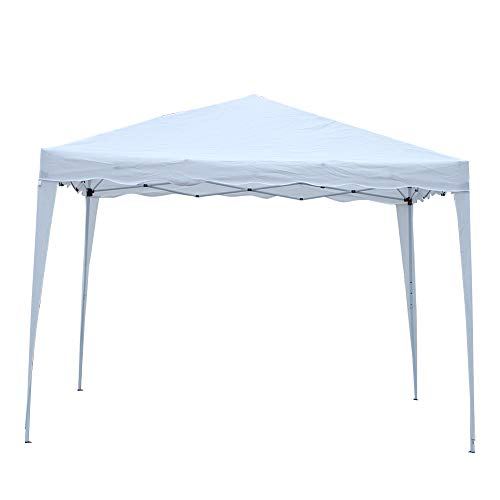 Wakects Shelter Party Tent, 3x3m Pavilion Canopy Garden Commercial Tent with Hand Bag and Installation Tools without Sidewalls