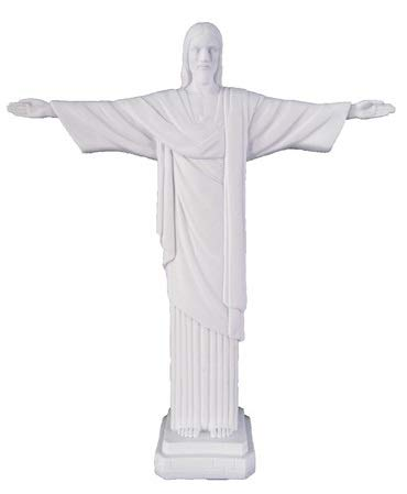 Woodington's Christ The Redeemer White 11 Inch Statue