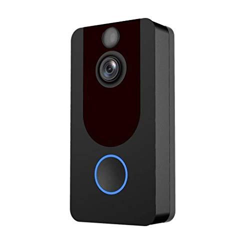 1080 P Draadloze Video Deurbel, Kijkgaatje Kijker, 2-weg Audio, Bewegingsdetectie En Waarschuwingen, Alarmering En Eenvoudige Installatie
