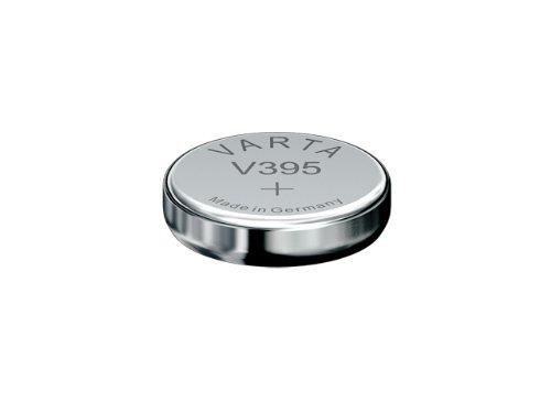 Knopfzelle Silberoxid - Uhrenbatterien 1 Stück Blister - Varta (V395/SR57) SR 927 SW / SR 57 SW / V 395 Varta 1BL