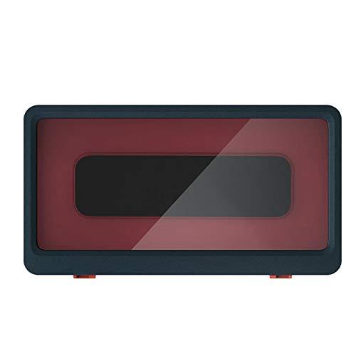 Caja para teléfono montada en la Pared-Pantalla táctil para baño Caja de Soporte para teléfono móvil- para teléfonos de Menos de 6.8 Pulgadas
