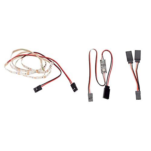 Ellenbogenorthese-LQ Parti di droni RC Aereo Elicottero LED Striscia Luminosa Alta Simulazione Kit Sistema di Illuminazione RC Accessori di aggiornamento - Rosso (Color : Blue)