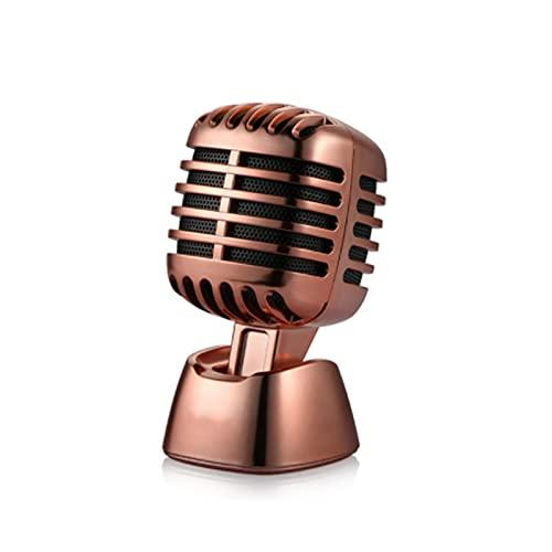 Micrófonos de moda Stlye Dashboard Adorno de coche Asiento Ambientador Difusor de perfume de automóvil Accesorios de decoración interior del coche Naranja