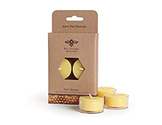 Big Dipper Wax Works Beeswax Tea Lights-6 Pack