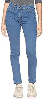 Andiamo Fashion High-Rise Slim Fit Button-Closure Jeans for Women