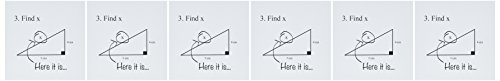 3drose vindt X hier is het – wenskaarten, 15,2 x 15,2 cm, set 6 (GC 107310 1)