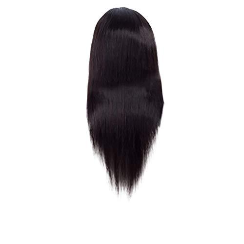 Dorical Brazilian Echthaar perücke Hair lace Front Wig Straight Natural Brazilian Echthaarperücken für Schwarze Frauen Ausverkauf(C)