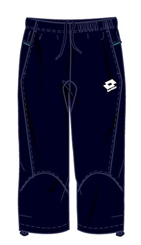 Lotto Sport Pants Mid Trail, Uomo, Deep Navy, Uomo, Blau, XXL