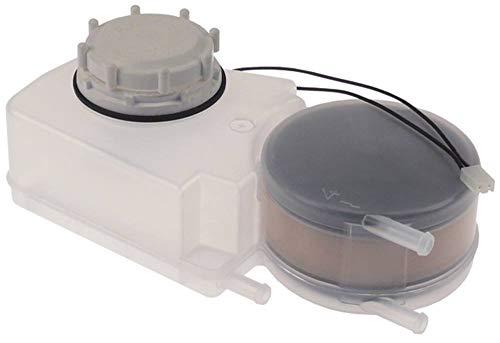Zoutreservoir voor vaatwasser breedte 140 mm hoogte 60 mm lengte 240 mm slangaansluiting 10 mm