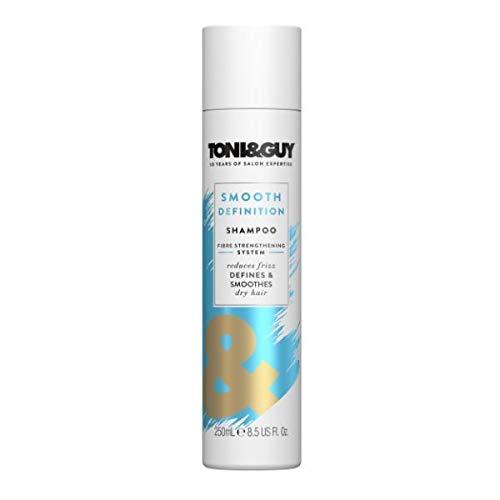 Toni&Guy Smooth Definition Conditioner I Pflege-Spülung für trockenes Haar I Haar-Spülung gegen strapaziertes & krauses Haar I Haar-Kur gegen Frizz I Sofortige Wirkung I 250 ml