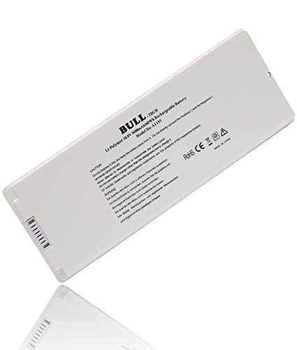 """A1185 A1181 MA561 MA561FE/A MA561G/A MA561J/A New Laptop Battery for Apple 13"""" MacBook (Mid. / Late 2006, Mid. / Late 2007, Early/Late 2008, Early/Mid. 2009)"""