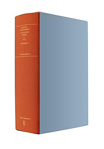 Sämtliche Werke Band XVI (in zwei Teilbänden): Anthologien 1