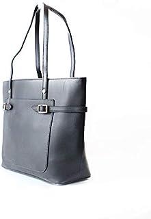 لينز حقيبة بوكيت نسائية ، جلد صناعي - اسود