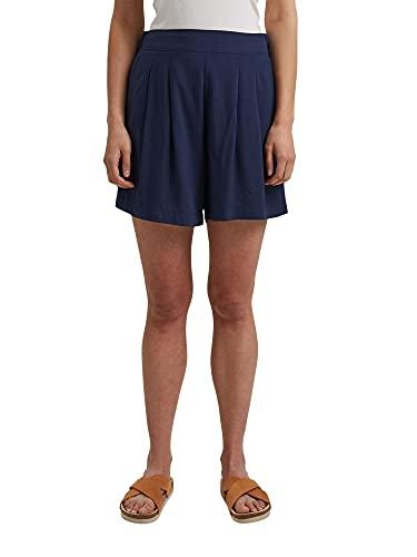 ESPRIT Damen 051EE1C312 Shorts, 400/NAVY, 40