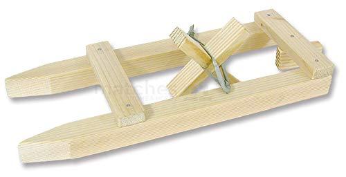 matches21 Boot Modell kleines Schiff mit Gummimotor Bausatz f. Kinder Lehrmittel Werkset Bastelset ab 8 Jahren