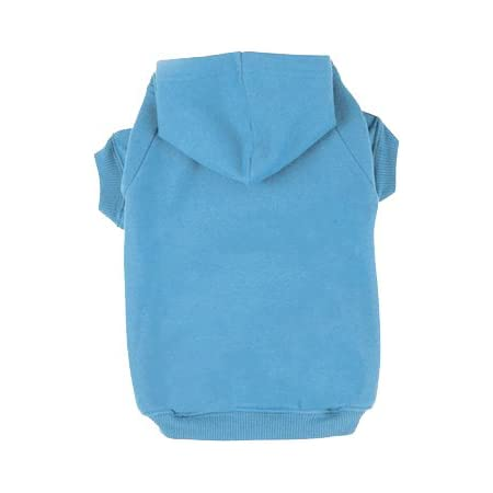 BINGPET Blank Basic Cotton//Polyester Pet Dog Sweatshirt Hoodie